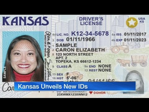 Kansas unveils new 'Real ID' drivers licenses, 3 years early