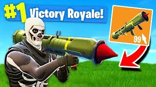 *NEW* LEGENDARY GUIDED MISSILE LAUNCHER Gameplay In Fortnite: Battle Royale