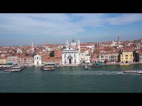 Norwegian Spirit Cruise Ship Traversing Venice Grand Canal
