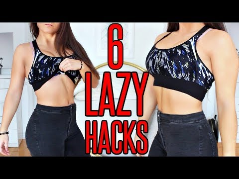 6 LAZY FITNESS HACKS To Get A HOT BODY In 2018