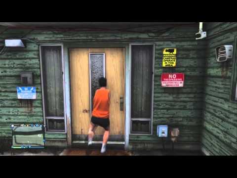 Grand Theft Auto V - Lester's Lube Easter Egg