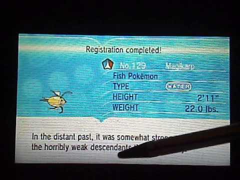 Pokemon XY - Catching a Shiny Magikarp!