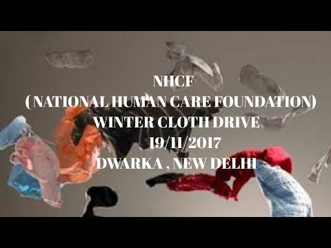 Winter Cloth Drive (cloth donation for poor and needy)