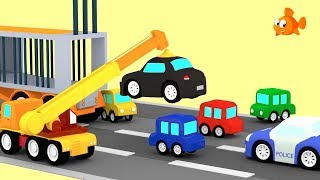 Download POLICE CAR CHASE! 🔴🔵 Cartoon Cars - Cartoon Animation Cartoons for children