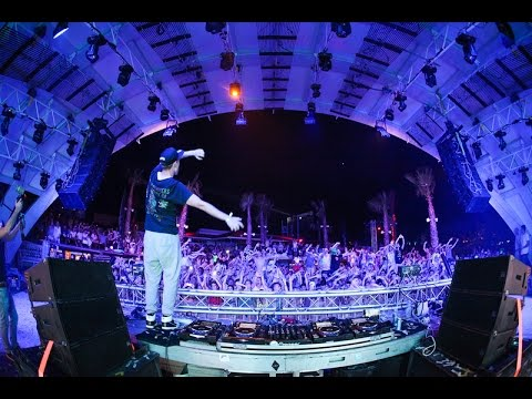 Nicky Romero & Showtek at Zrce Beach - HTC Festival - 2014 - Papaya Club