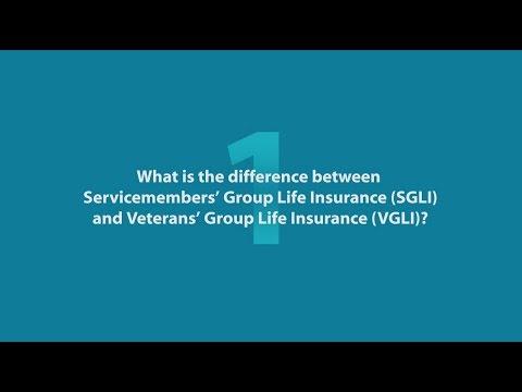 4 Questions about Converting SGLI to VGLI