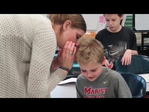 Children with Dyslexia Inspired by Deaf Teacher