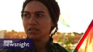 The women leading the fight against IS in Syria – BBC Newsnight
