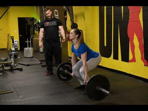 Universal Exercise Deadlift with Jordan & Michelle