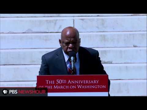 Watch Rep. John Lewis Speak at 50th Anniversary Celebration of MOW