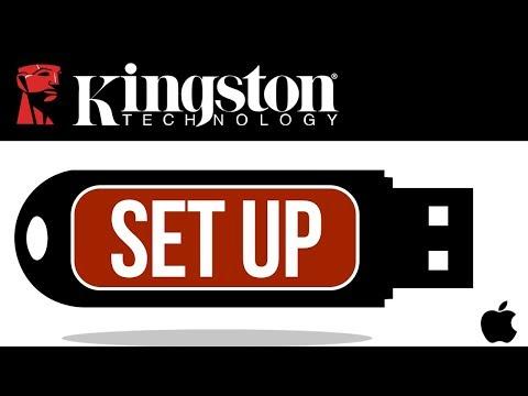 Kingston USB flash drive Set Up Guide for Mac | MacBook Pro, iMac, Mac mini, Mac Pro, MacBook Air