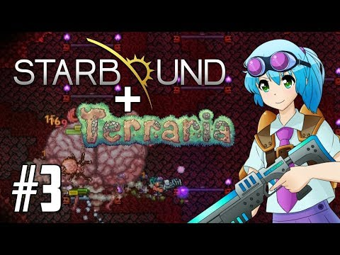 TERRARIA & STARBOUND TOGETHER! Starraria Adventure Map!   PC 1.3 Maps   Part 3