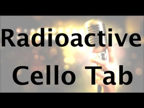 Learn Radioactive on Cello - How to Play Tutorial