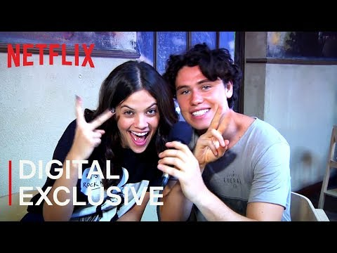 Ariel Mortman and Finn Roberts Interview | Greenhouse Academy | Netflix