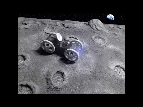 Lunar Vehicle Diorama