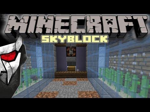 Minecraft Skyblock - Sugar Cane Farm! #17