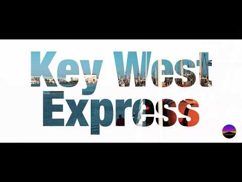 Footage of the Key West Express ferry service from Ft Myers Beach to Key West