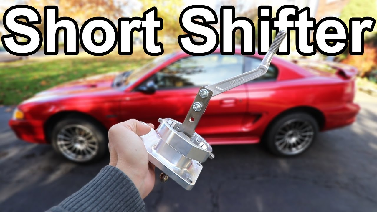 How to Install a Short Throw Shifter