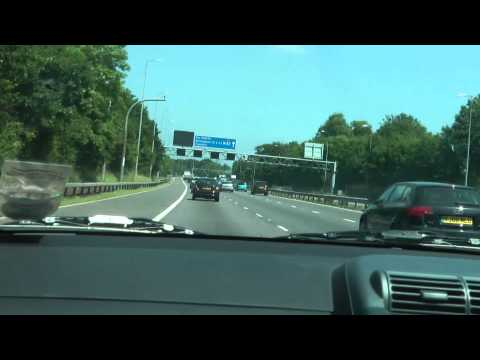 Timelapse Driving from London to Birmingham (Heathrow airport Renaissance hotel) Part 2