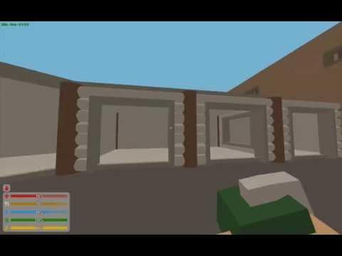Unturned 3.8.6.0 - Garage door bug (Stacking gates)