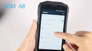 AGM A8 Unboxing & Hands-on