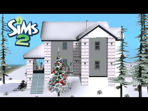 ♢ Winter House ♢ The Sims 2 ♢