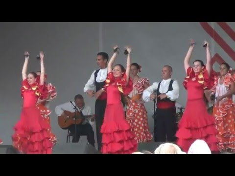 Amazing Latin Dance at Moscow Cultural  Festival