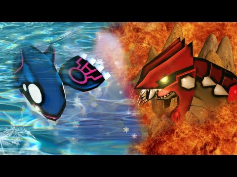 Catching Groudon & Kyogre - Where are my sides?