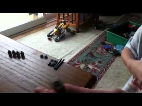 How to build a Lego Enderman(from Minecraft)