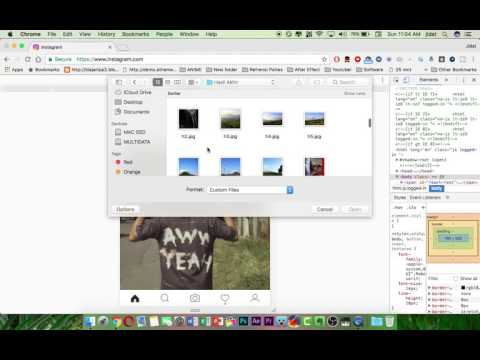 Cara Upload Foto & Video Instagram di PC/Laptop/Mac Google Chrome Tanpa Aplikasi Tambahan