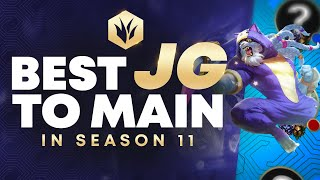The Best Junglers To MAIN For Season 11 To Climb Every Rank!