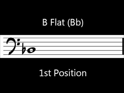 Learn to play Bb on trombone