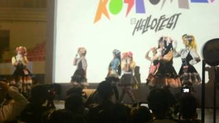 cosplay team show at hellofest 10 Jakarta, Indonesia
