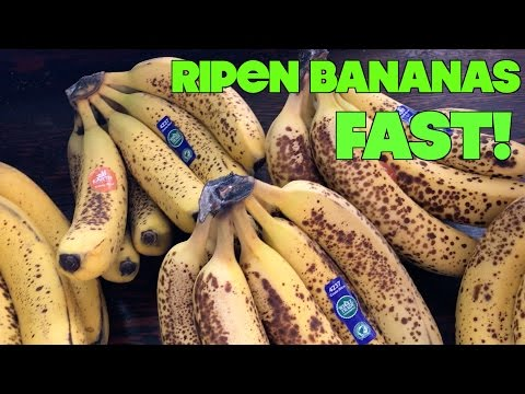 What's The Fastest Way To Ripen Bananas?