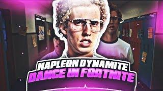 Napoleon Dynamite Dance In Fortnite Groove Jam Orange Jus