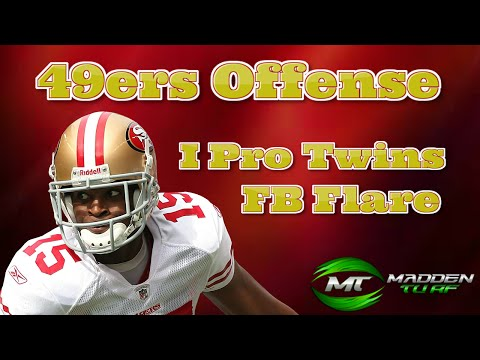 Madden 15 Money Play from San Francisco 49ers Playbook