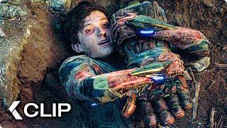 Captain Marvel helps Spiderman Scene - AVENGERS 4: Endgame (2019)