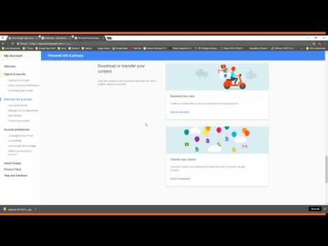 How to Export/Backup Google Drive Data