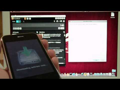 4.1 Jailbreak for iPhone 3g & iPod Touch 2nd gen (Mac Users)