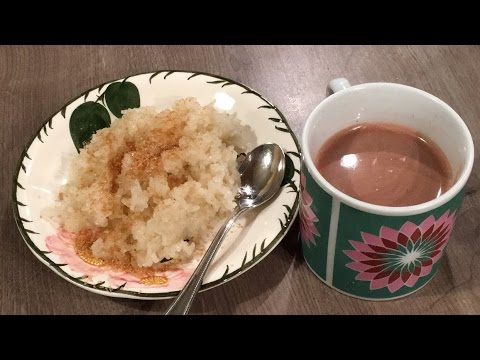 Puto Maya with Sikwate (Hot Chocolate)