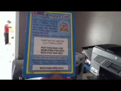 Eight Webkinz Card Codes