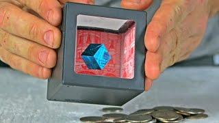 Art Coin Bank Cube