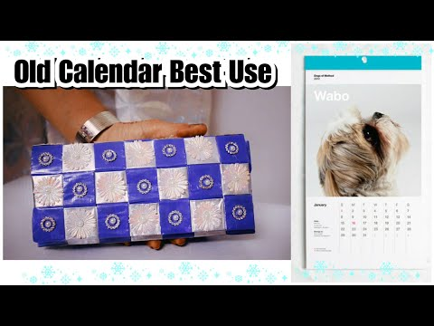 How to make Clutch from Old Calendar | DIY Clutch From Waste Material | Best Out Of Waste