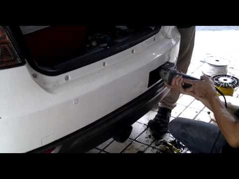 Pemasangan side marker & foglamp