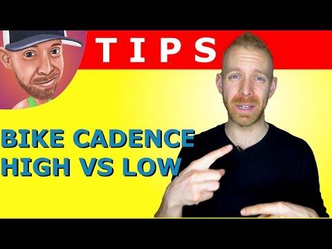 Triathlon Cycling Training High Cadence vs Low Cadence