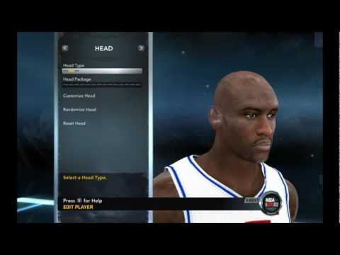 NBA 2K12  - Michael Jordan Creation