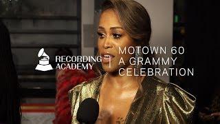 """Eve Talks Women's """"Fabulous"""" Role In Motown   Motown 60: A GRAMMY Celebration"""