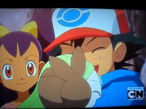 Pokémon/Meloetta last moment Good-Bye & Oshawott crying