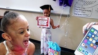 Download Imani Gets Surprise iPod Touch For Graduation Gift!! Video