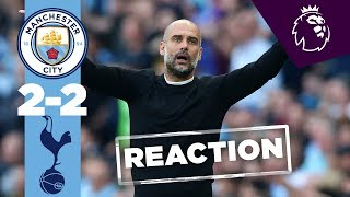 VAR, Handball, Penalty | Pep Reacts | MAN CITY 2-2 TOTTENHAM